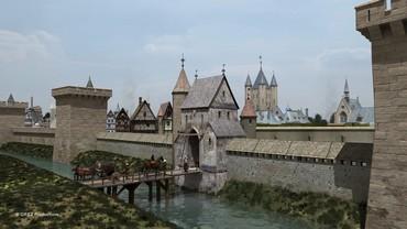 L'enclos du Temple et le Donjon – Grez productions – Paris en 3D